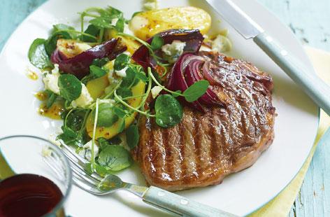 Rib-eye-steaks