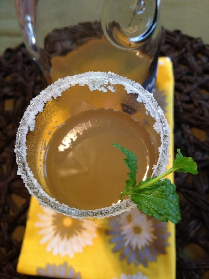 Ginger Tea w/ Mint Honey