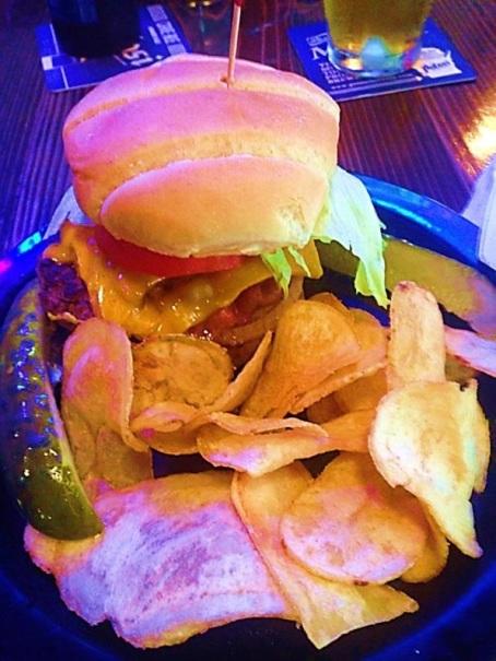 Kelly Burger @ Potosi Brewery Saloon